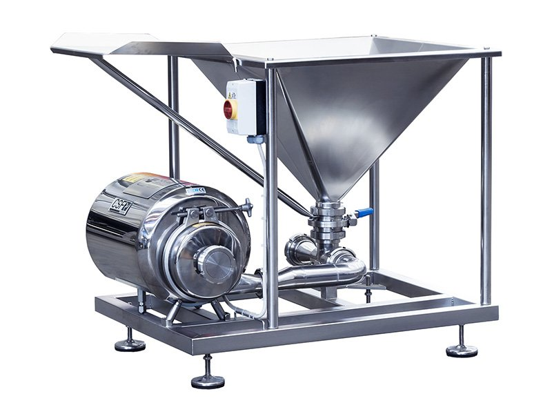 dr powder mixer - inox-fer mixing systems