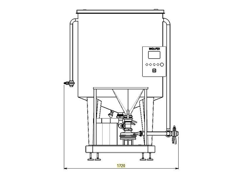 sistemi di miscelazione disegno tecnico 1