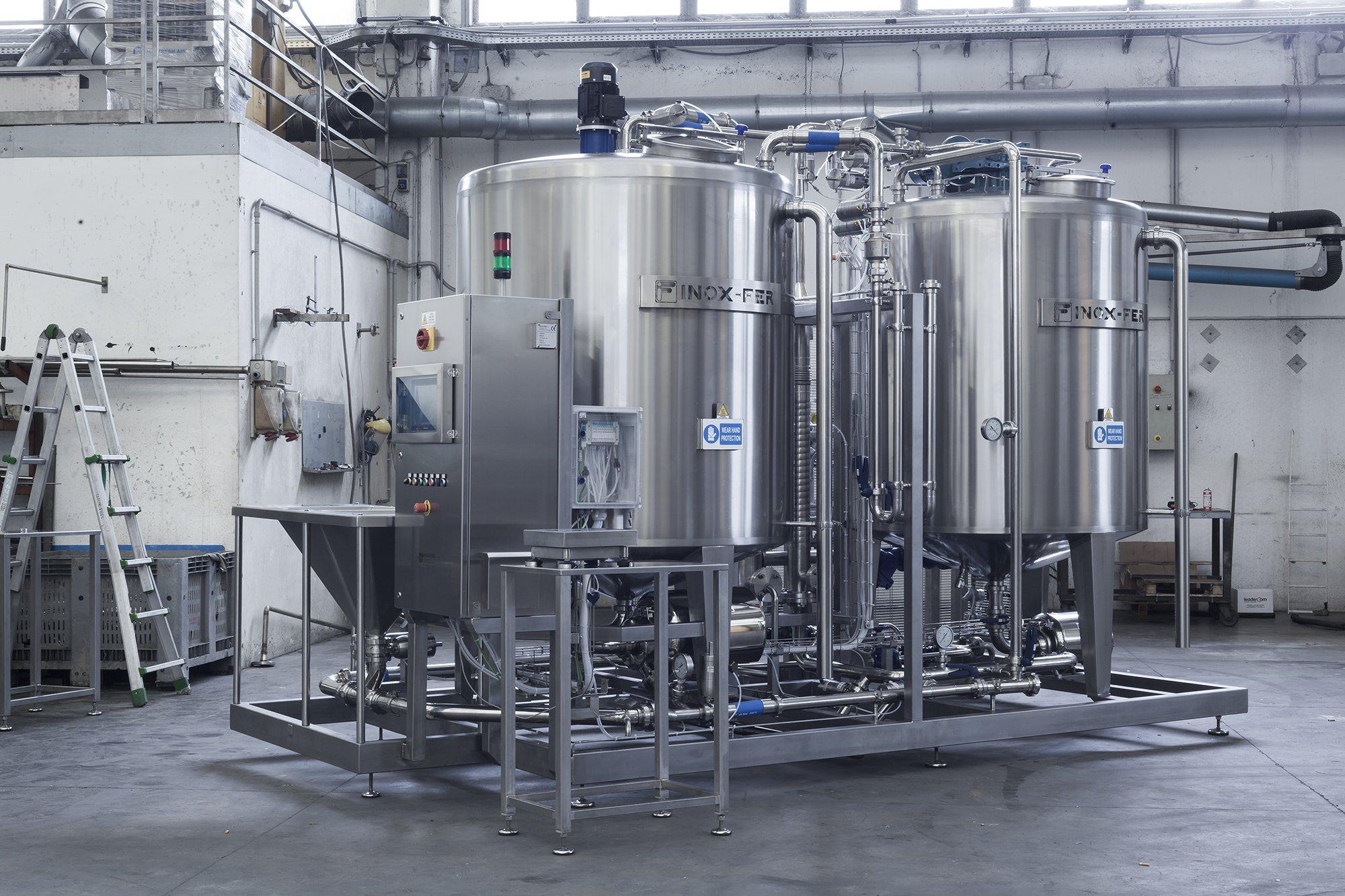brine preparation machine