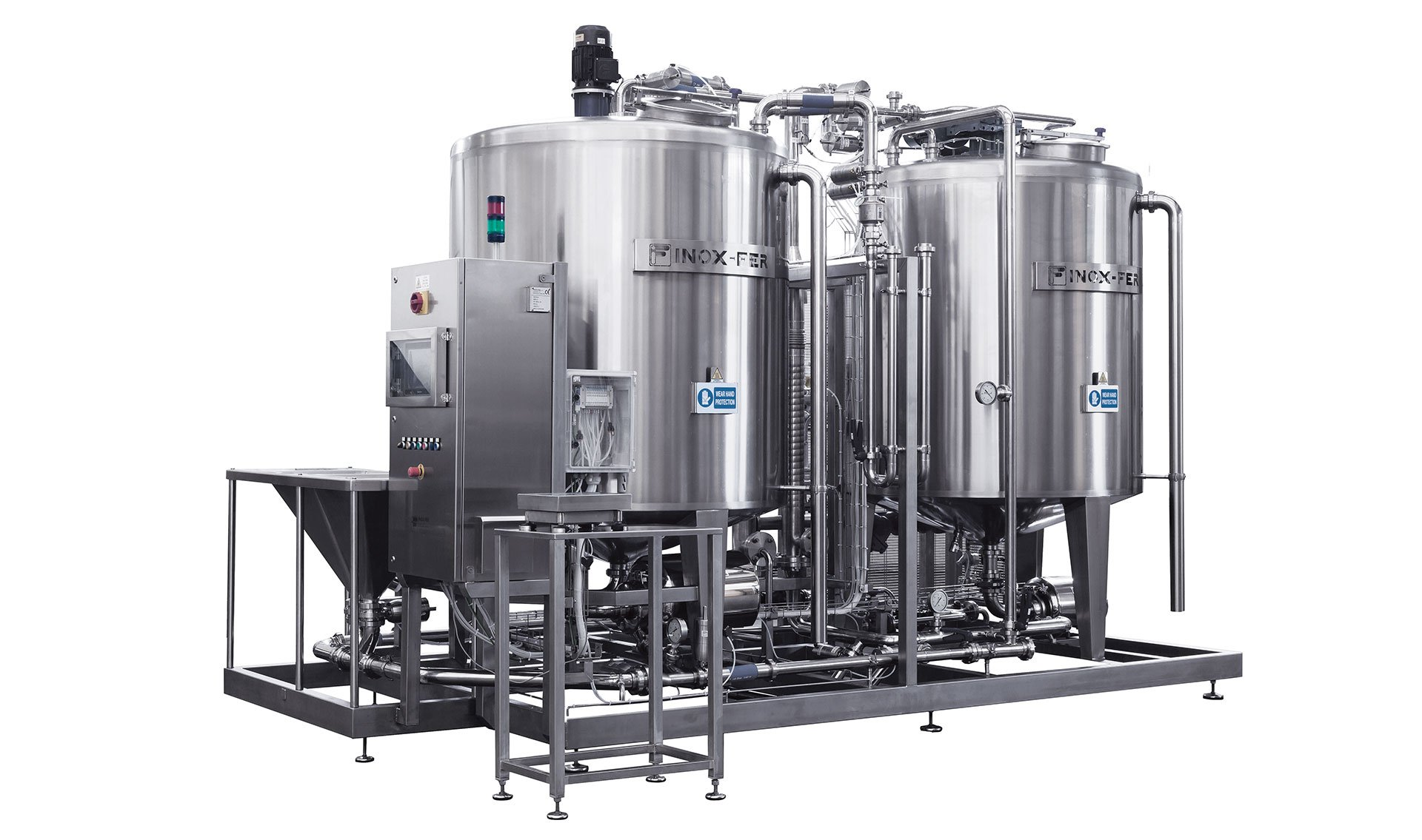 promix mixing system for brine and syrup