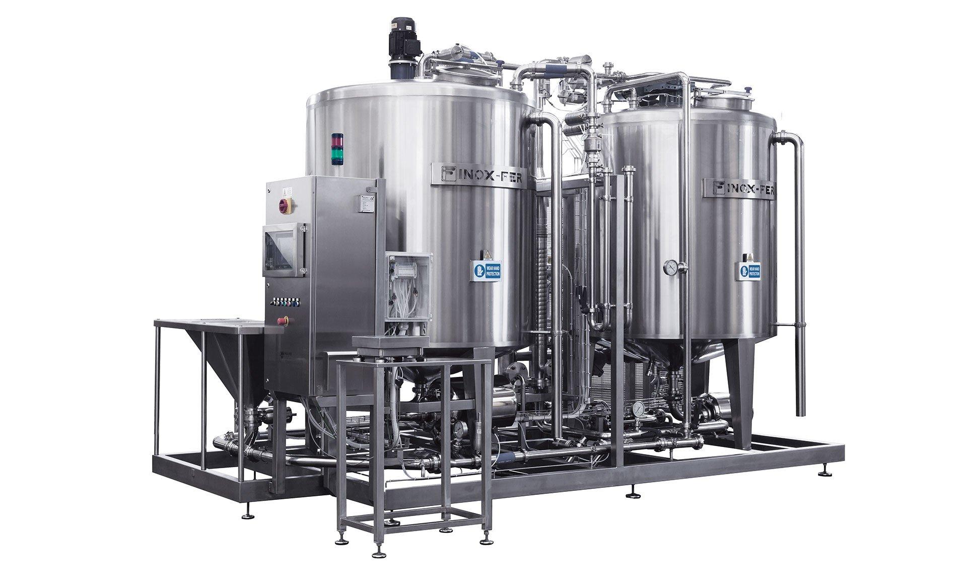 impianti di miscelazione per polveri e liquidi ProMix