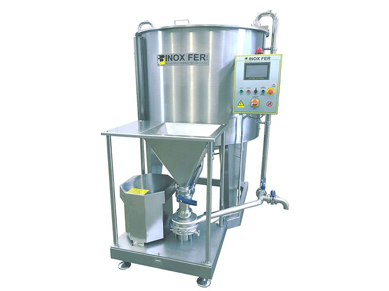 standard inox-fer mixing systems