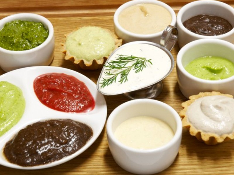 sauces produced by procut industrial cooking mixer