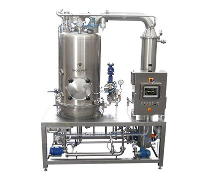 Machine for jam production
