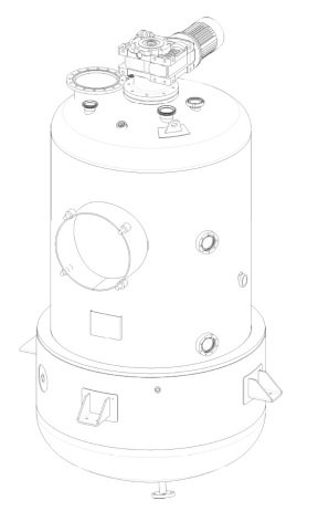 concentration kettle for jams & sauces production line