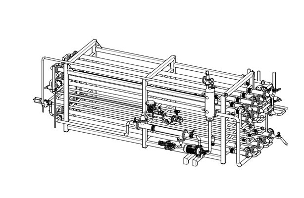 plate pasteurizer for ice-cream production line