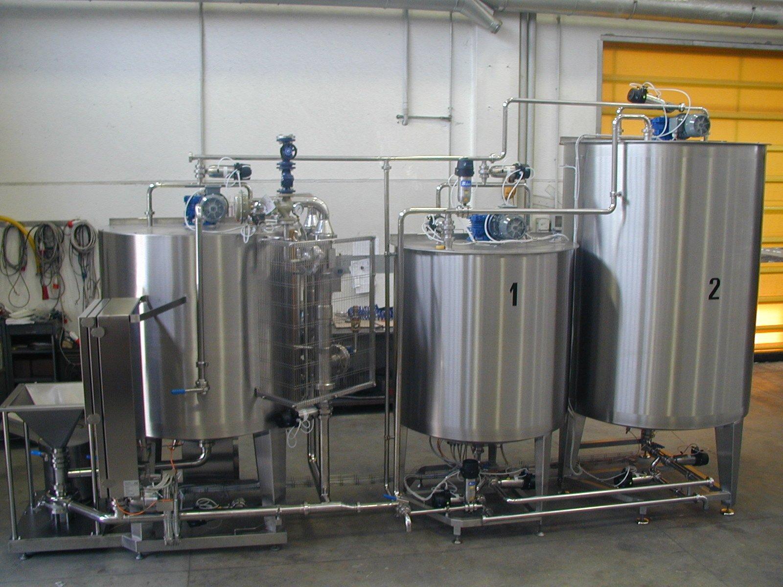 Produzione glassa balsamica con miscelatore