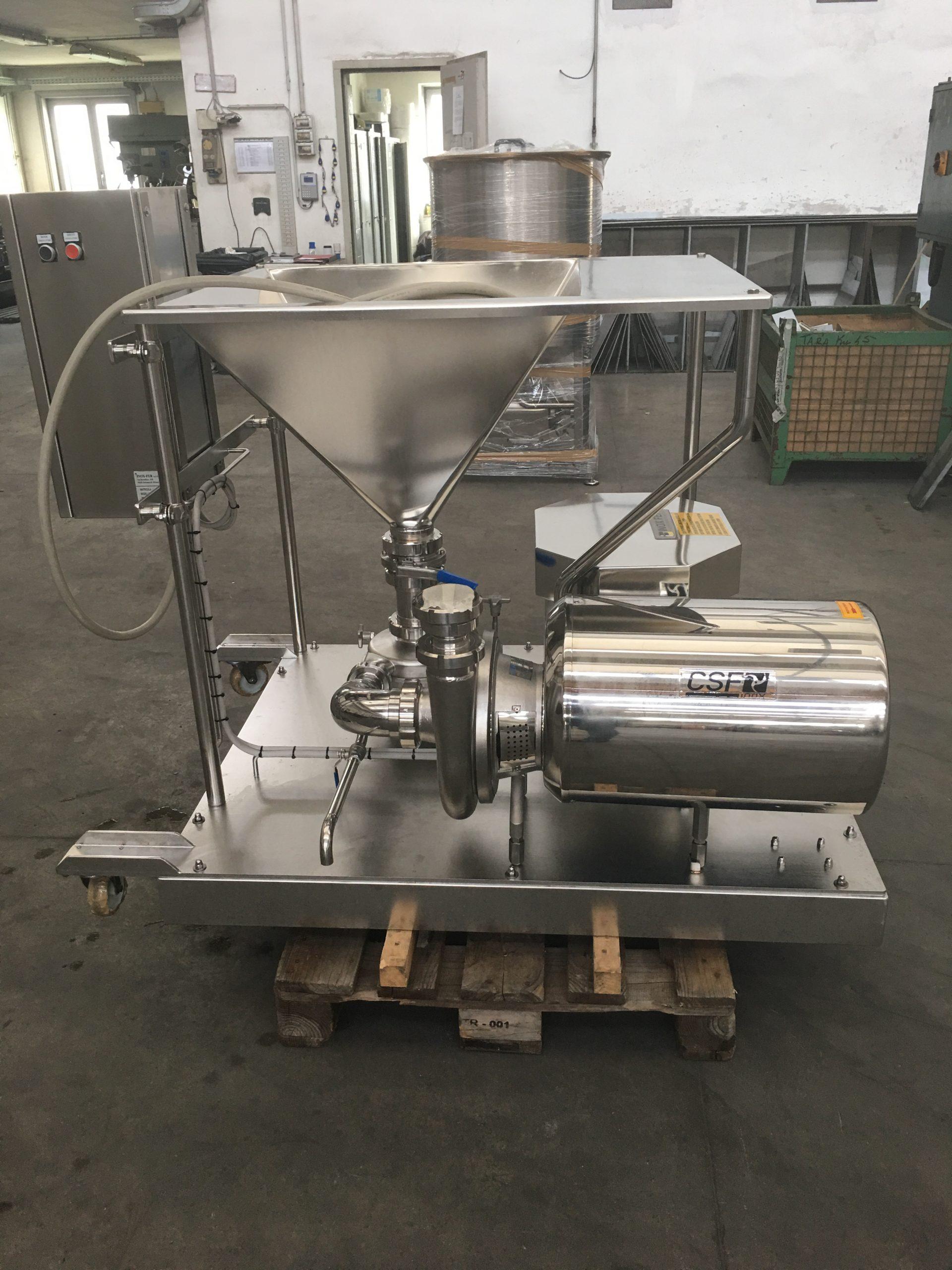 powder mixer for liquid dish detergent