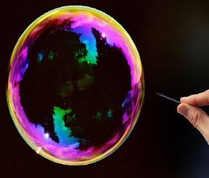dissoluzione amidi e addensanti per bolle di sapone