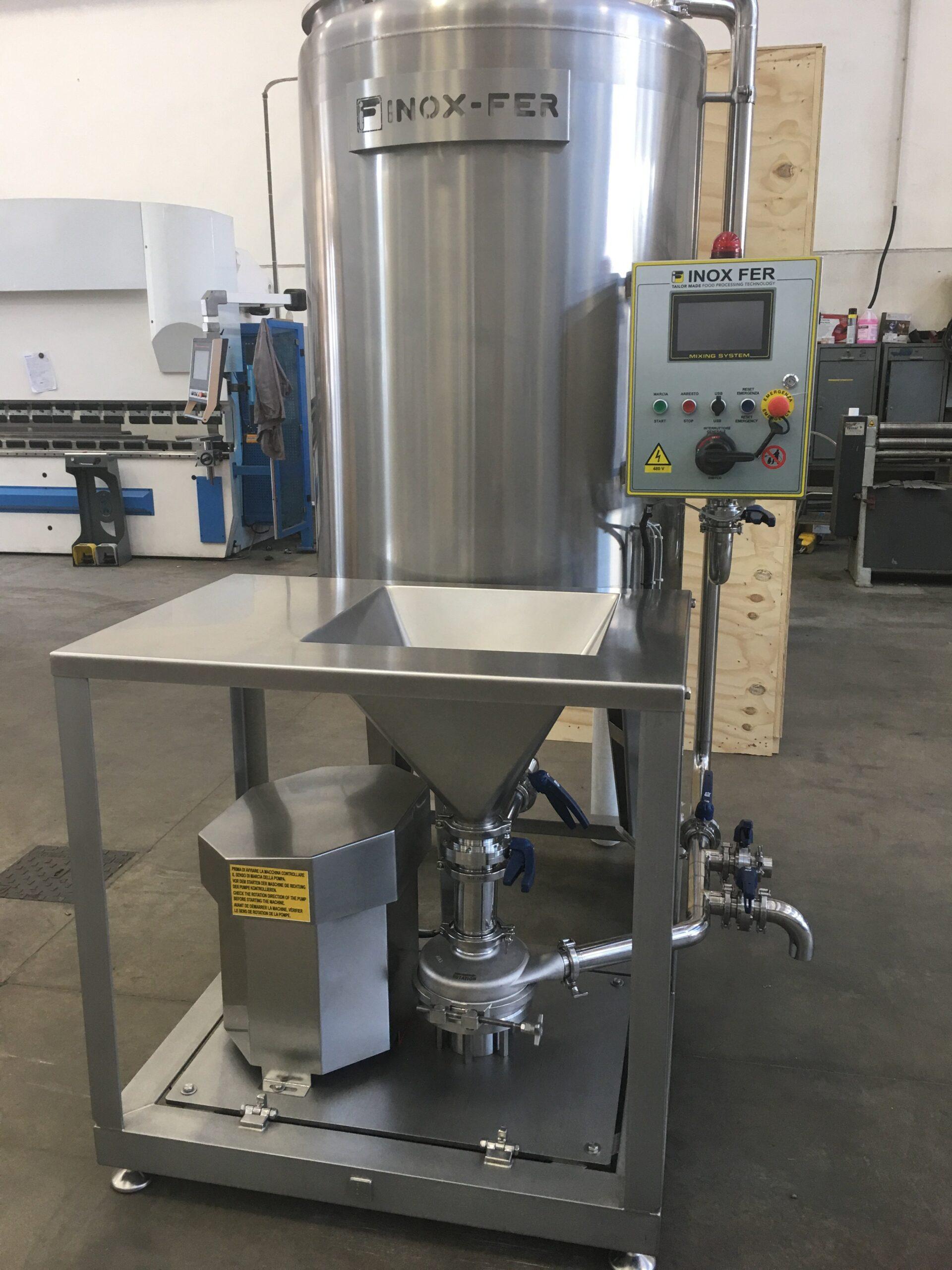 salt brine mixer