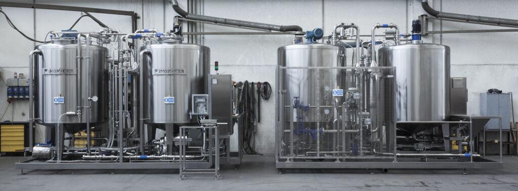 Impianto automatico per preparazione salamoia