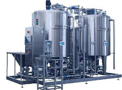 machine for brine preparation