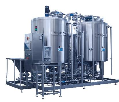 machine for brine preparation