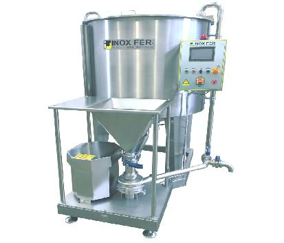 Powder induction system